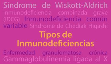 Tipos Inmunodeficiencias