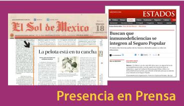 Presencia en Prensa