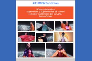 FumeniNoticias abril-mayo 2017: Superhéroes y Superheroínas de FUMENI